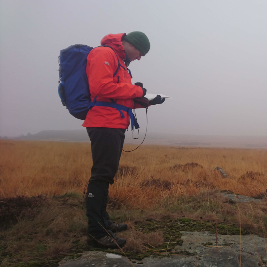 Kial reading the map as part of the off-path navigation practise